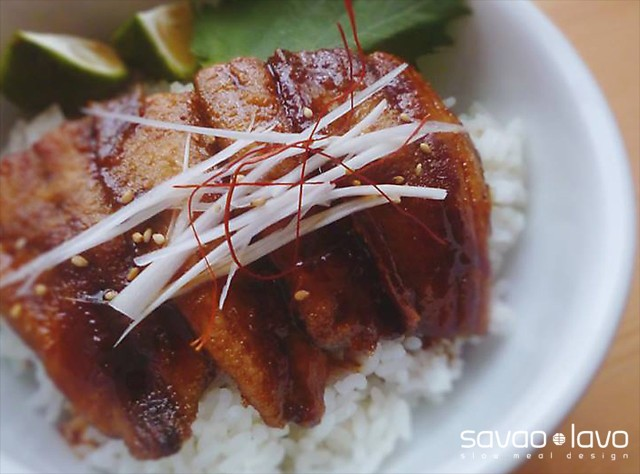 秋刀魚蒲焼き丼_s